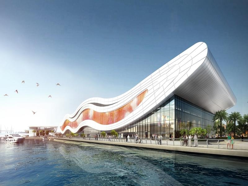 Новый аквариум в Абу-Даби