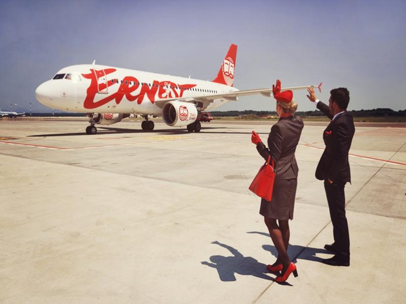 Все об итальянском лоукосте Ernest Airlines