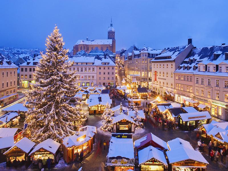 Старт рождественских ярмарок в Европе