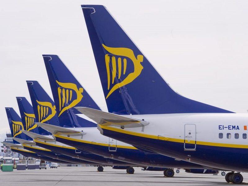 4-новых рейса от Ryanair