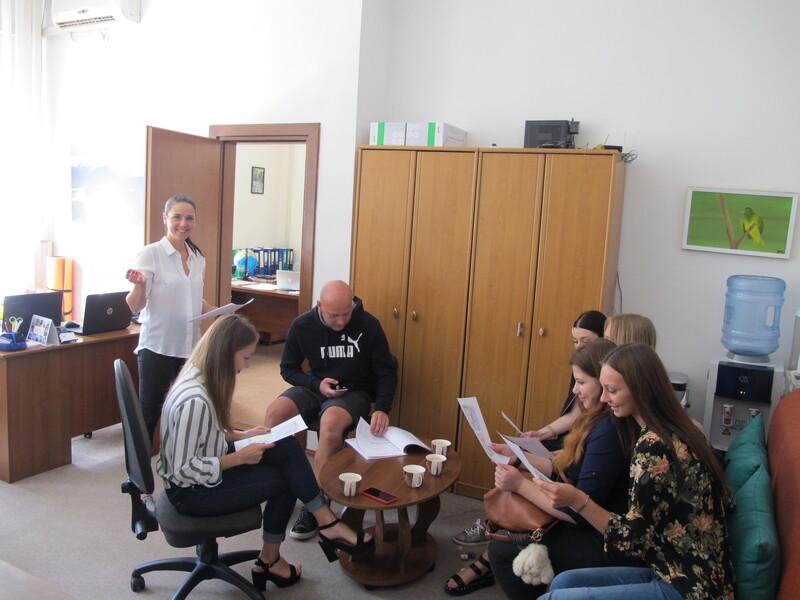 Встреча со студентами в рамках дуального образования