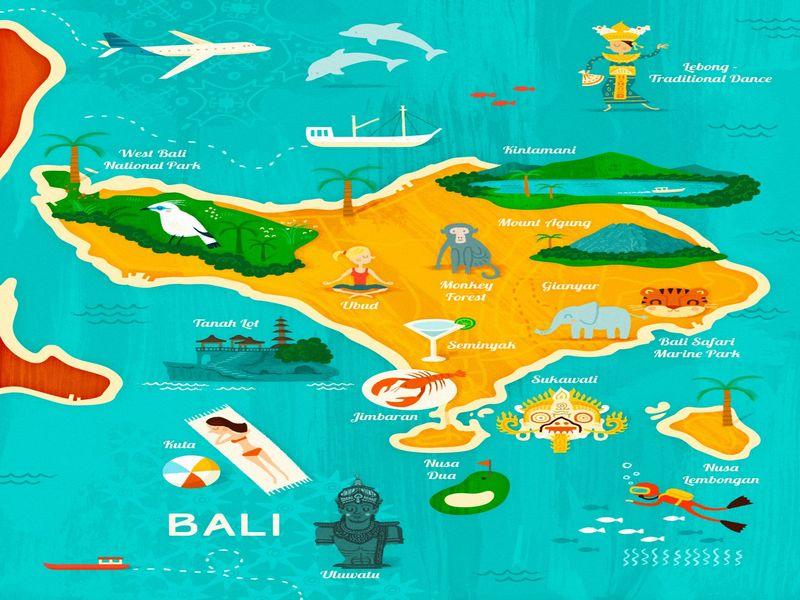 Необходимость получения визы на о. Бали