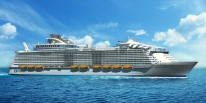 Первый рейс Harmony of the Seas