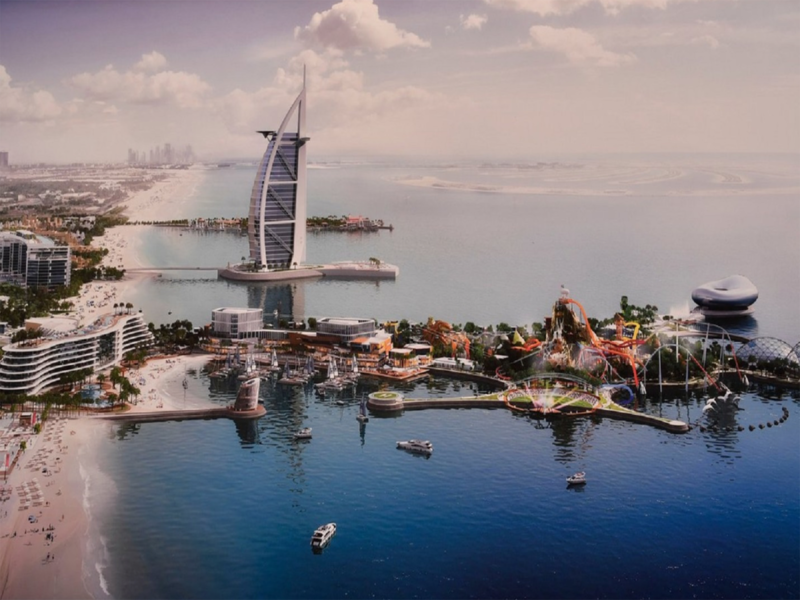 В Дубае построят новый курорт
