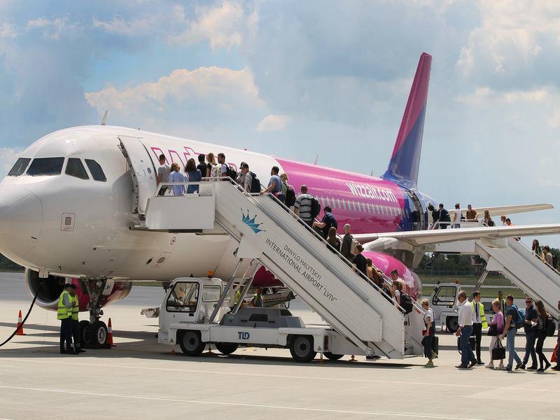 Новая услуга для пассажиров Wizz Air