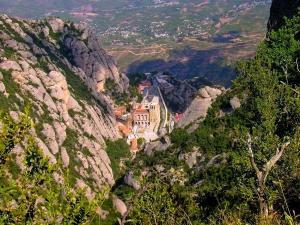 Іспанія відома і не дуже...  Монастир Монтсеррат