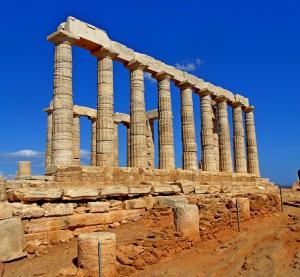 Греция (мыс Сунион и озеро Вульягмени)