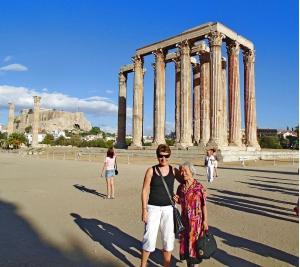 Греческие встречи: Галя большая и Галя маленькая